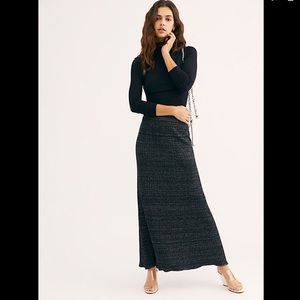 NWT FREE PEOPLE SHINE BRIGHT SKIRT SIZE MED